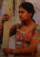 Indian woman by Swarup, Aparna