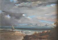 Table Bay - trawler by Bowler, Thomas William