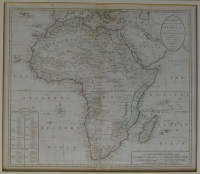 Map by Bowles New Onesheet Map of Africa