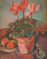 Pot plants by Coetzee, Herbert Harold