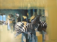 Zebras by Joubert, Keith