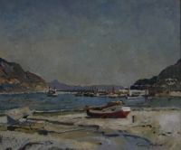 View of hout bay by McCaw, Terence John