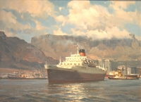M.s windsor castle sails on her last homeward voyage by Paravano, Dino