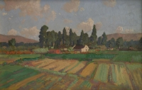 Derdepoort farm by Pierneef, Jacob Hendrik