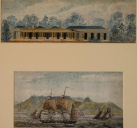 Series of watercolours covering the Cape of Good Hope - eleven by Pink, Edmund