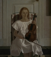 The violin pupil by Rodger, Neil