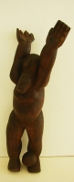Wooden Sculpture by Hlungwani, Jackson