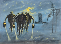 Miners and moonlight by Mohl, John Koenakeefe