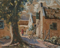 A view of a house by Carter, Sydney