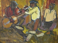 The band by Ngatane, Ephraim Majalifa