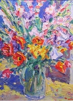 Still life - flowers by Batha, Gerhard