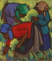 Harvesters by Niemann, Hennie