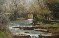 River scene by Boyley, Errol Stephen