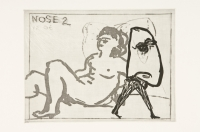 Nose 2 by Kentridge, William