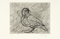 Magic Flute - Dove State X by Kentridge, William