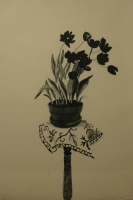 Black tulips by Hockney, David