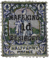 South African stamp - Mafeking besieged by Blake, Tamlin