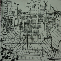 City scene by Relly, Tamsin
