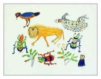 Lowveld Insects and Lion by Bob, Ennie