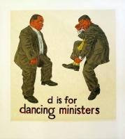 D is for Dancing Ministers by Kannemeyer, Anton