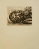 Lying Head II by Louw, Johann