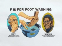 F is for Footwashing by Kannemeyer, Anton