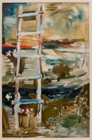 Boatyard Ladder by Davidson, Suzy