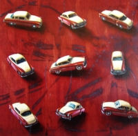 Still life with cars by Serfontein, Henk