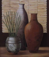 3 Vases by Unknown